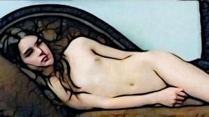 Brooke Shields Nude Art
